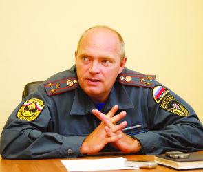 В 2012 пожар в Воронеже под контролем