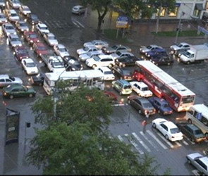 Пробки и аварии в Воронеже в четверг 26 июля