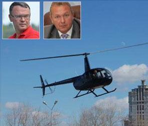 Вертолеты Зенищева и Цыбаня арестовали в Воронеже