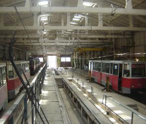 Трамвайное депо снесли раньше Трубочного завода
