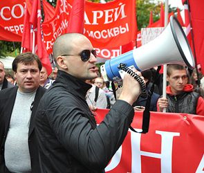 «Марш миллионов» завершился арестом Сергея Удальцова