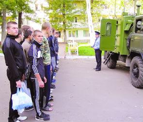 В санатории Дзержинского откармливают призывников
