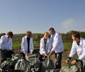 В пойме реки Дон собрано полторы тонны мусора