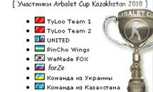 Arbalet Cup Asia российская квалификация