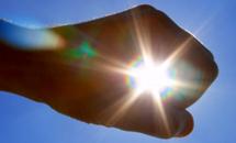 Солнце будет ярким