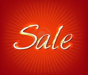 Red Sale  на закрытых распродажах