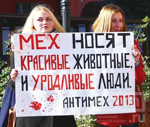 Сторонники Мавроди в Воронеже поддержали антимеховой пикет - ФОТО и ВИДЕО