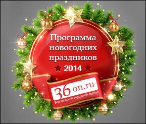 Новый год в Воронеже — развлекательная программа