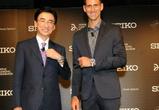 Теннисист Новак Джокович будет носить только часы Seiko