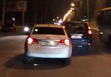 Две иномарки не поделили дорогу на улице Космонавтов в Воронеже