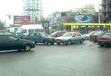 Две аварии парализовали движение на Московском проспекте