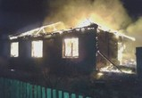 Ночью горел жилой дом в Лискинской районе