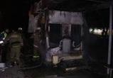 За ночь в Воронеже произошло два пожара