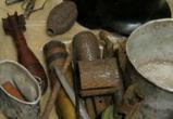 Килограмм тротила и оружие найдены полицейскими в двух воронежских гаражах