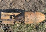 В Воронеже откопали 50-килограммовую авиационную бомбу
