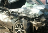 Водитель «Лады» погиб в столкновении с грузовиком в Воронеже