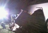 Под Воронежем легковушка врезалась в автобус, погиб один человек