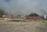 Лесные пожары в Масловке