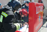 В помещении горящего склада в Воронеже находились 60 человек