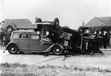 Ретро аварии автомобилей