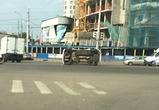 Автомобиль «Рено» перевернулся в аварии в центре Воронежа