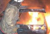 Два автомобиля загорелись ночью в Воронежской области