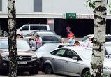 На парковке у торгового центра «Твой дом» пьяный водитель устроил массовое ДТП