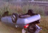 Под Воронежем машина упала с моста, есть пострадавшие