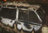 Две автомашины сгорели в течение ночи в Воронеже