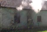 Под Воронежем на пожаре погиб человек