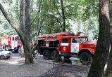 В Воронеже из горящего дома эвакуировали 14 человек