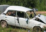 В Воронежской области перевернулся ВАЗ-2105 - пострадали четыре человека