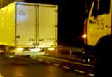 Один человек пострадал в столкновении грузовиков под Воронежем