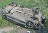 В Воронежской области перевернулась иномарка - два человека погибли