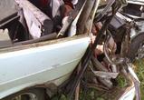 В столкновении ВАЗа с грузовиком под Воронежем погибла девушка