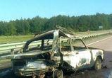 В Воронежской области в аварии заживо сгорели мужчина и женщина
