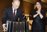 Путин и президент Аргентины Кристина Киршнер: love story