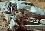 Под Воронежем ВАЗ врезался в автобус, два человека погибли
