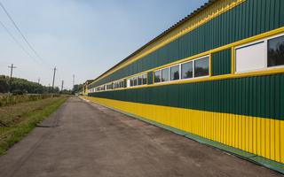 Пробный пуск новой фабрики столешниц в Семилуках