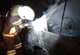 Пожар уничтожил ГАЗель в гаражном кооперативе в Воронеже
