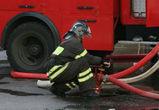 На левом берегу Воронежа загорелся пассажирский автобус