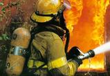 В Воронеже на пожаре в жилом доме едва не погиб человек