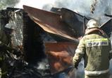 Пожилая женщина погибла на пожаре в воронежском селе