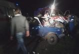 Под Воронежем при столкновении отечественных легковушек пострадали двое (ФОТО)