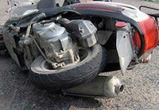 В Воронеже столкнулись иномарка и скутер: пострадала девочка-подросток