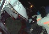Трое жителей Москвы погибли при столкновении иномарки и грузовика на трассе М-4