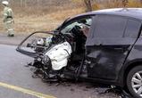 Молодая автомобилистка погибла в крупной аварии под Воронежем