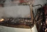 Полиция выясняет причину пожара, уничтожившего КамАЗ под Воронежем
