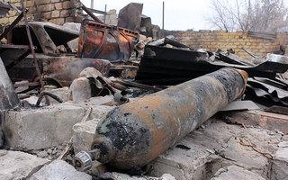 Руины Славяносербска