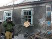 """Будни Новороссии: руины  Кировска после обстрела украинскими """"Градами"""" 120328"""